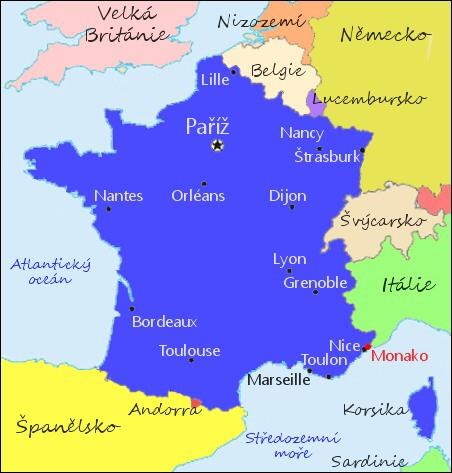 Francie Zakladni Informace Francie Na Svetadilech