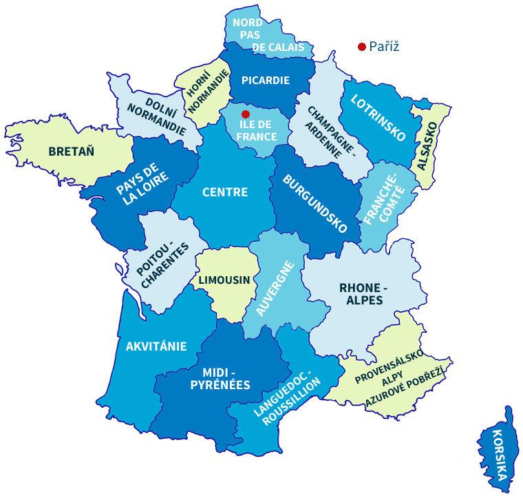 Francie Pruvodce Na Cesty Francie Na Svetadilech